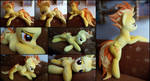 Lifesize Spitfire plush