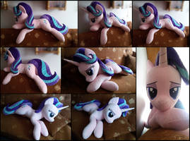 Lifesize Starlight Glimmer plush by RosaMariposaCrafts