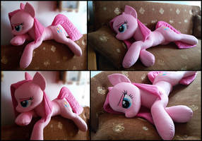 Lifesize Pinkamena plush by RosaMariposaCrafts