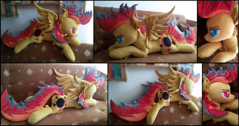 Lifesize OC Aeon Nights plush