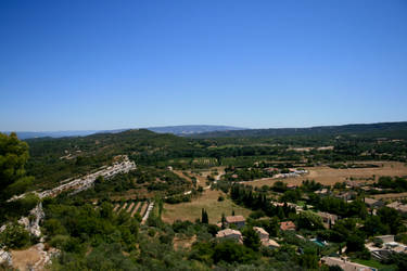 provence view 03. by greenleaf-stock