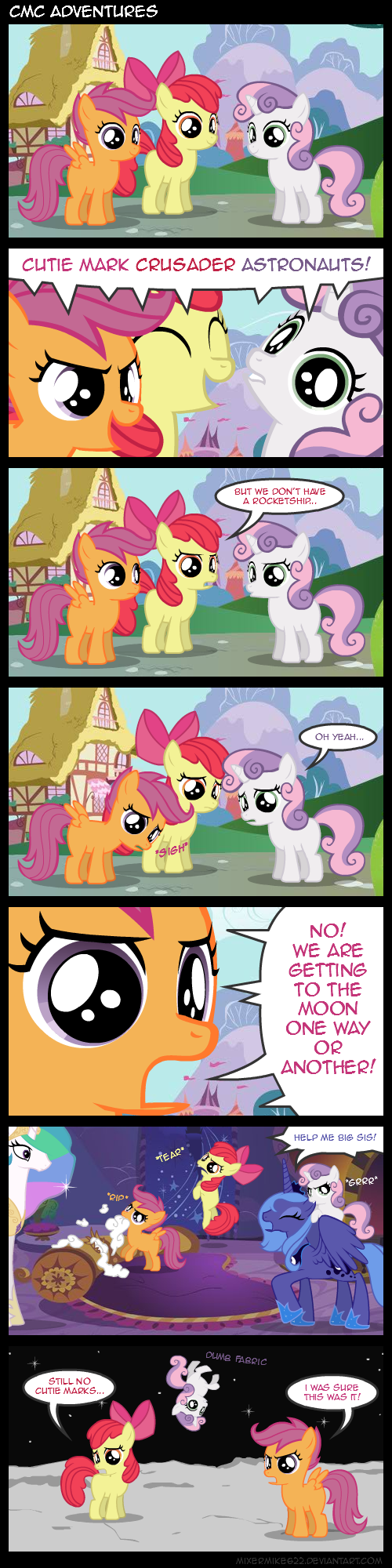CMC Adventures by Mixermike622