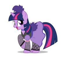 WESTERN TWILIGHT SPARKLE by FlufflePuff622