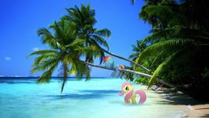 Beach Nappin by FlufflePuff622