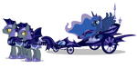 Luna's Chariot by FlufflePuff622