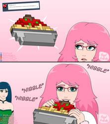 Floof 'n' Friends QnA 2: spaghetti