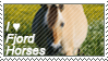 Fjord horse stamp by VKN64