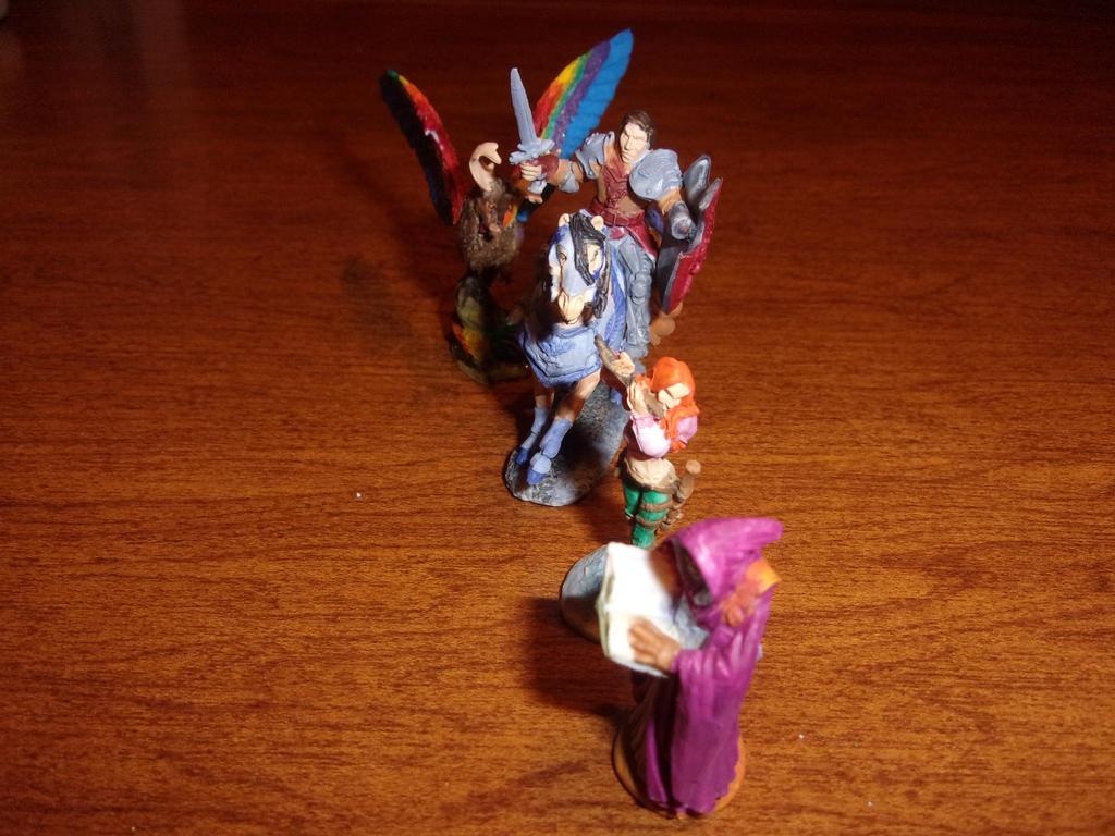 Lightening League figures 5 by dracodawnstar