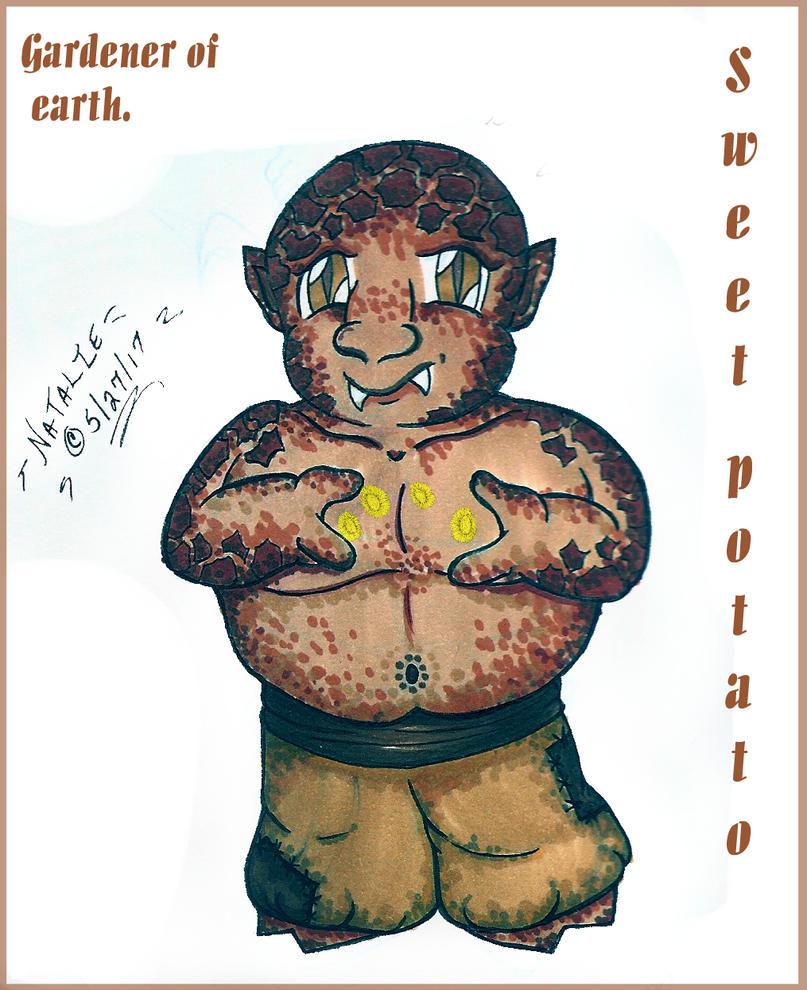 Sweet Potato by dracodawnstar