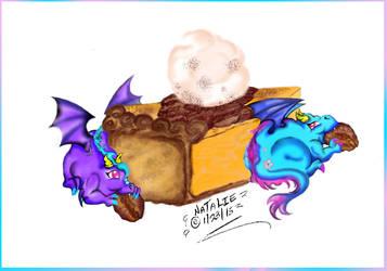 Pecan Pie by dracodawnstar