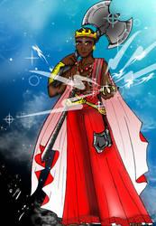 Shango Color by dracodawnstar