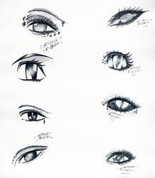 Ink Eyes by dracodawnstar