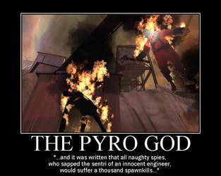 The Pyro God by Yohan-Gas-Mask