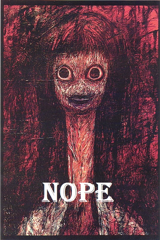 Creepy Nope + challenge by Yohan-Gas-Mask