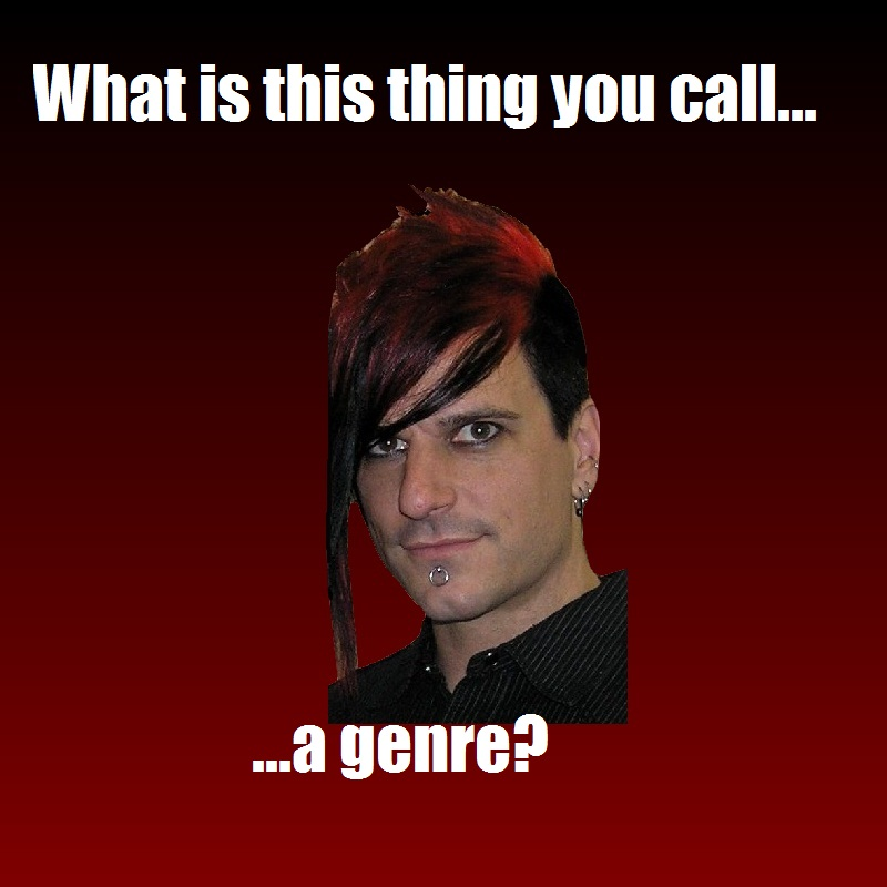 Klayton Meme: Genres by Yohan-Gas-Mask