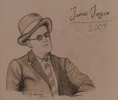James Joyce by TellerofTales
