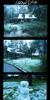 Louisiana Snow Day by TellerofTales