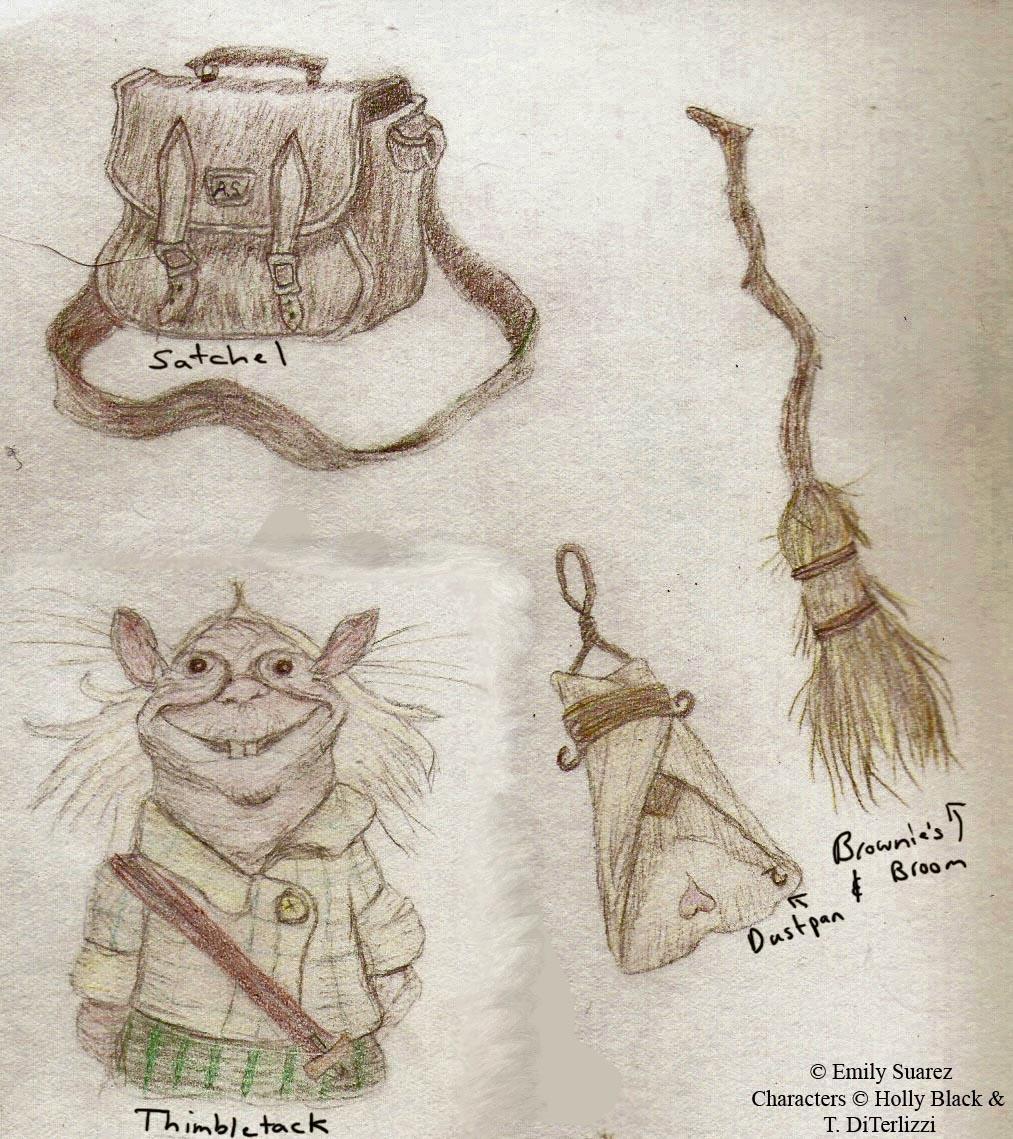 Spiderwick doodles by TellerofTales