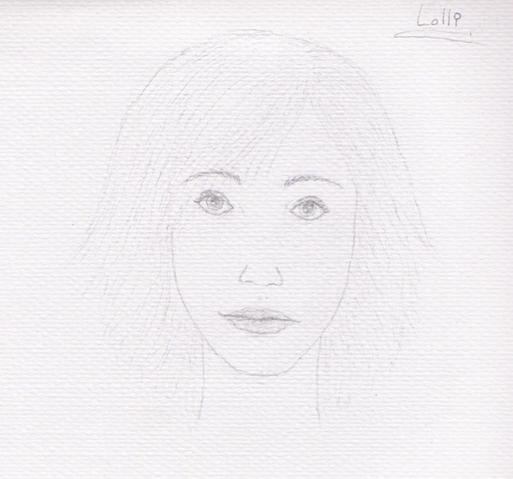 Lolli's Portrait by TellerofTales