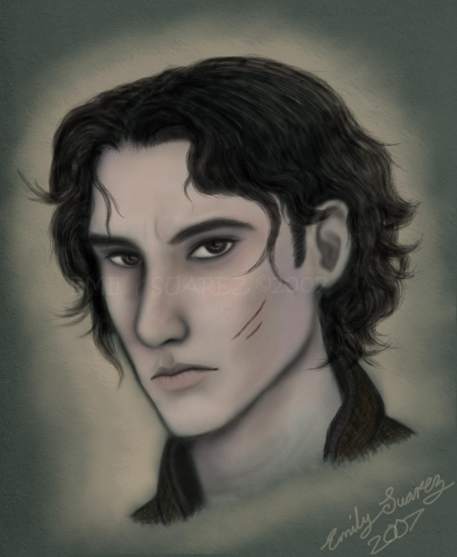 Theron's Portrait by TellerofTales