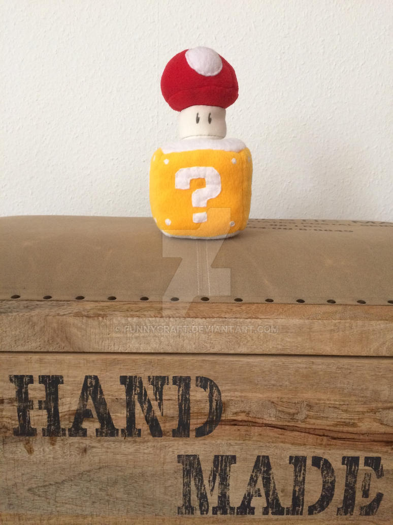 Mario Box and Mushroom by FUNNYcraft