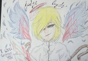 Judge Angels Creepypasta Fan art