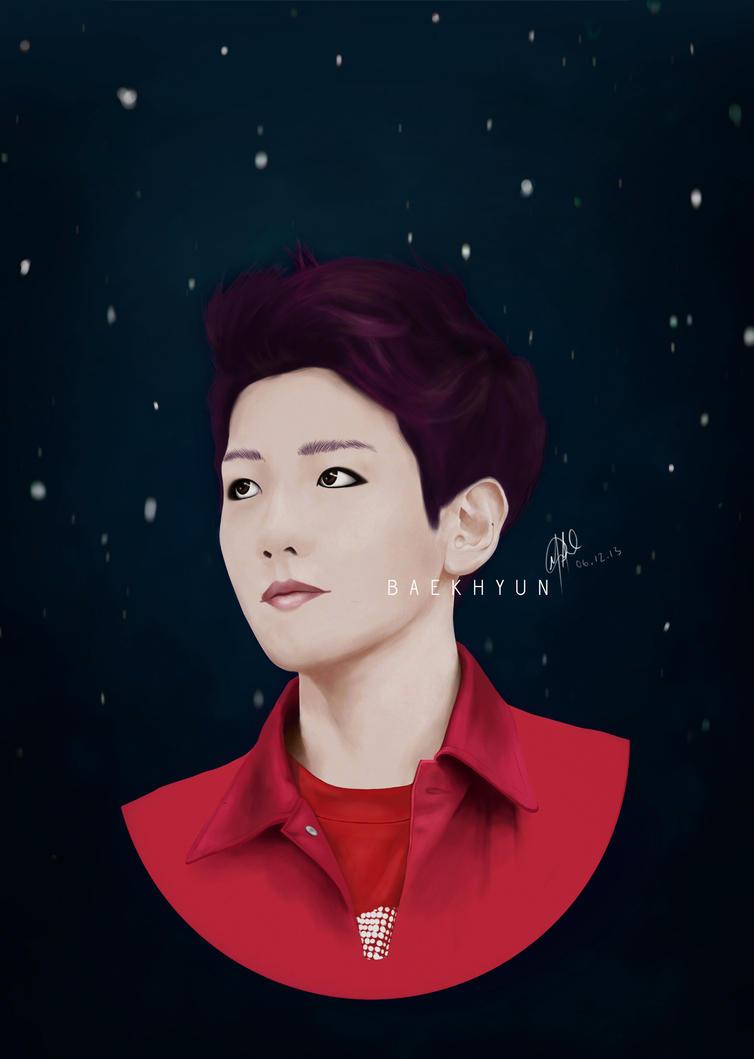 ::Gift:: Baekhyun by Painted-Skies