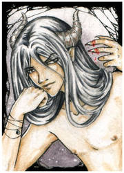 ACEO 029 - Raven