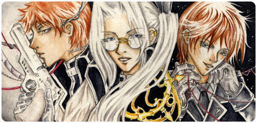ACEO 033-035 - Trinity Blood