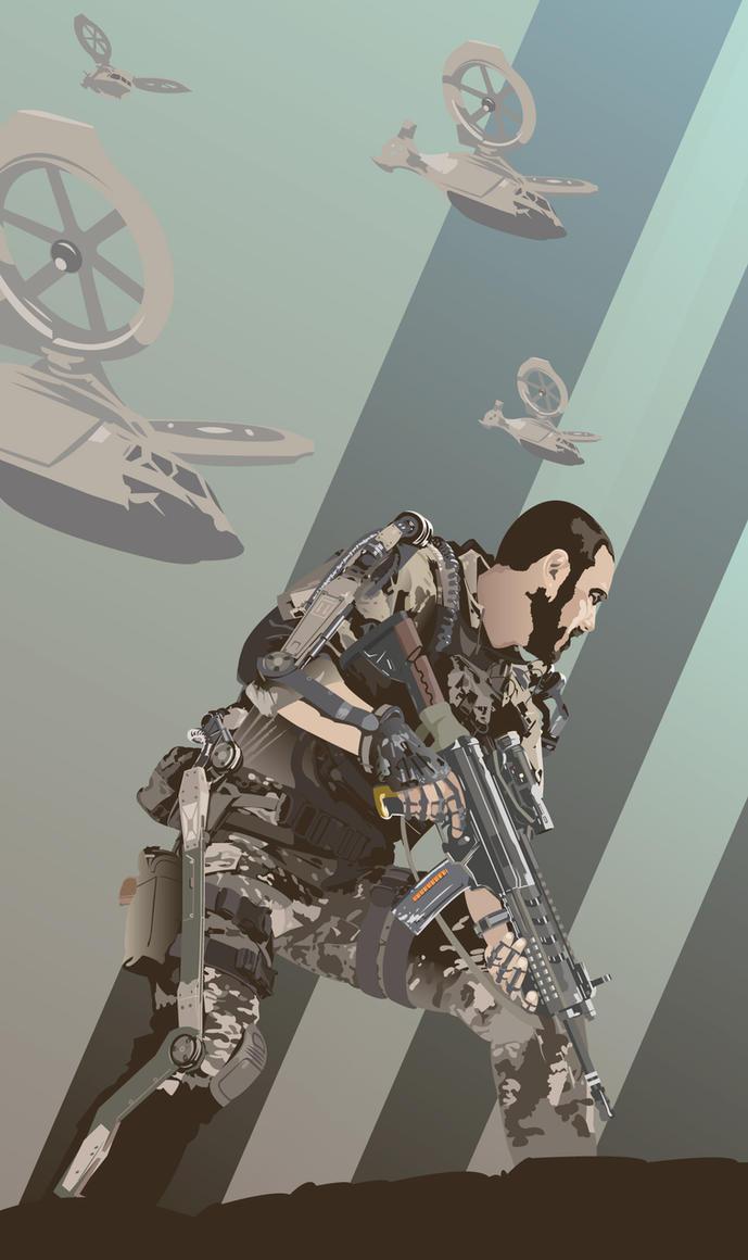 Call Of Duty Advanced Warfare by Mik4g
