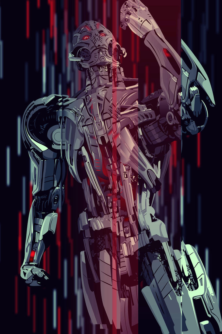 Ultron by Mik4g