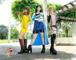 Final Fantasy VIII female group