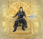 Loki: King without a crown - Colored