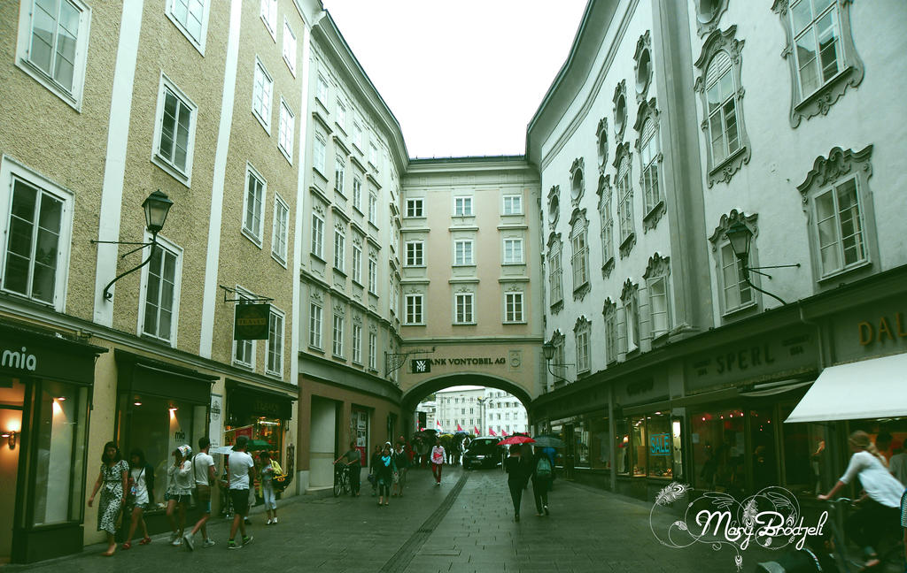 Salzburg, Austria. by MaryBrodzeli