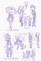 sketching is so fun sketching is so fun by kerenitychan