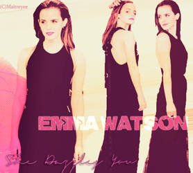EmmaWatsonPrincessStyle by magicrubbish