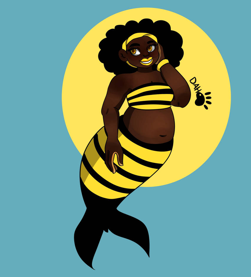 MerMay Day 20 Bumble Bee by temari102