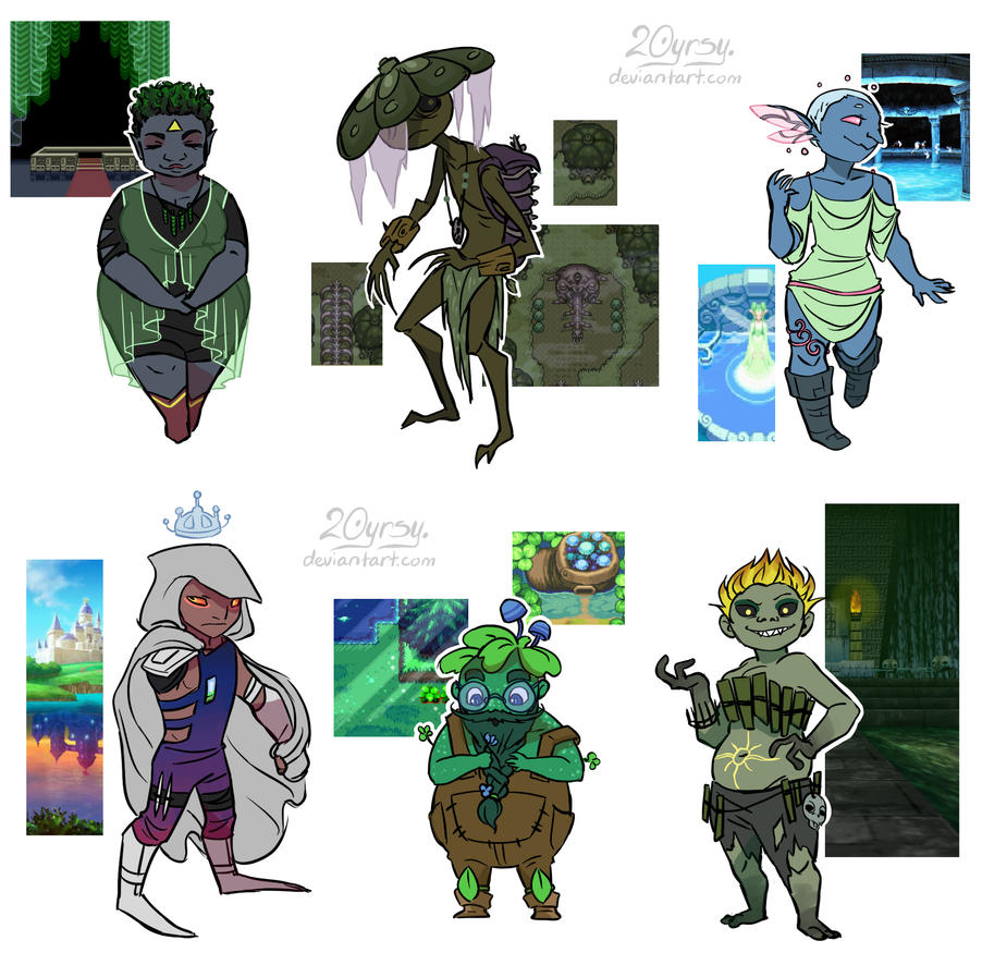 Character Design Challenge : Character design challenge by yrsy on deviantart