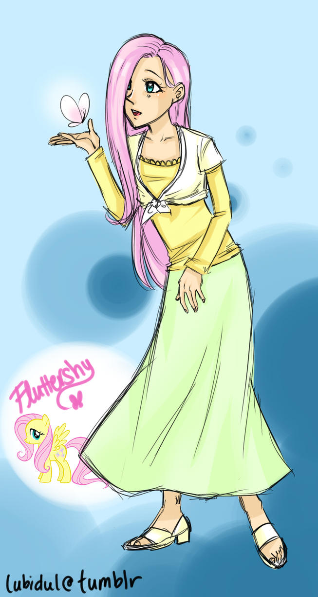 MLP: Fluttershy by thelifeofabinder