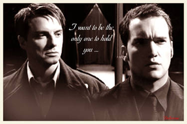 Jack and Ianto: I Want to be. by darkenrose