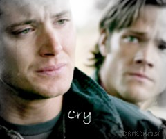 Dean: Cry by darkenrose