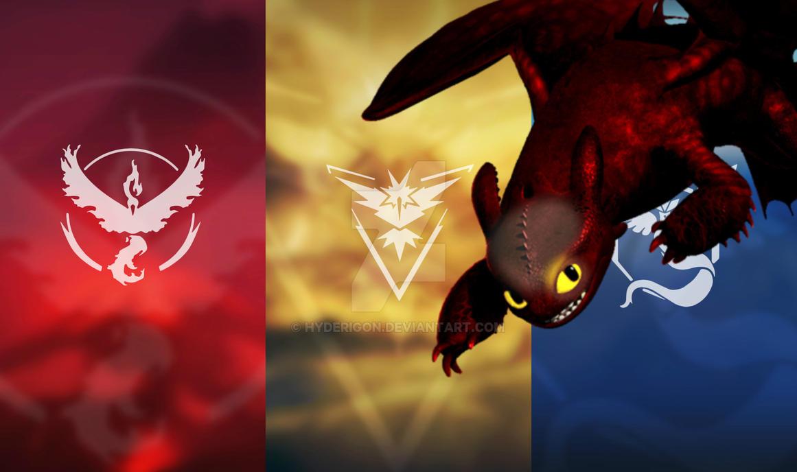 Mystic Valor or Instinct? by HyderIGON