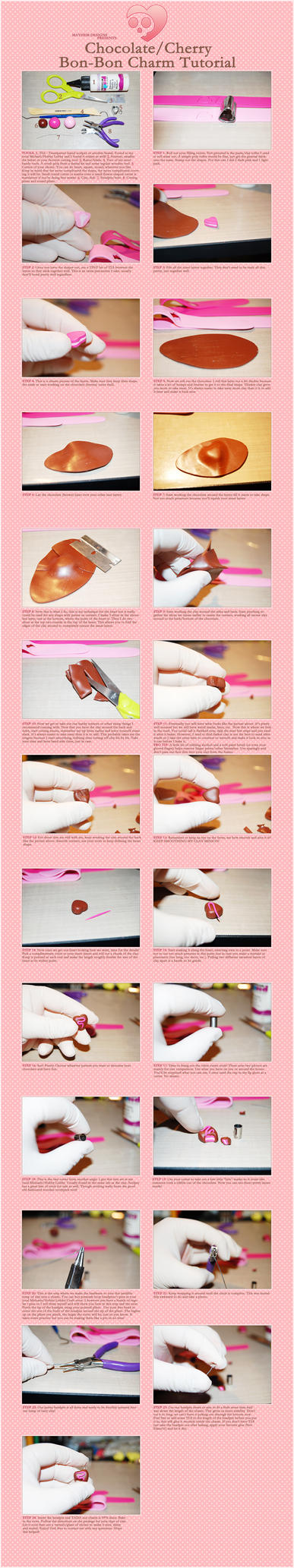 Choco BonBon Charm Tutorial by MissyMayhem