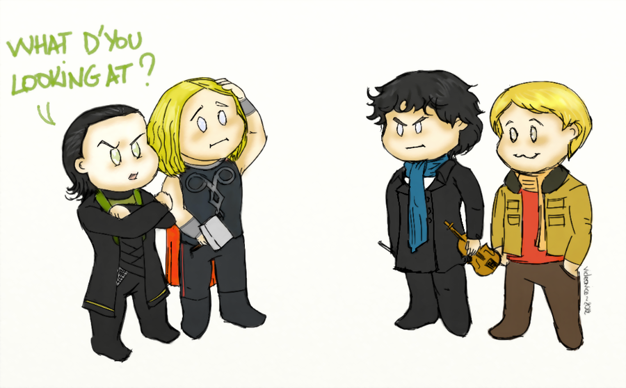Thorki vs. Johnlock by VideaVice