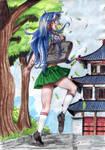 Miyu goes to Japan