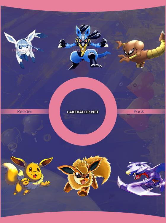 LV Render Pack #3 by LVSatix