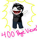 400 PAGEVIEWS O3O by Frodomeg
