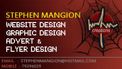 Personal Business Card - FRONT