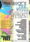 Rock in the Woods Flyer