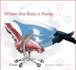 Chair Logo Humor